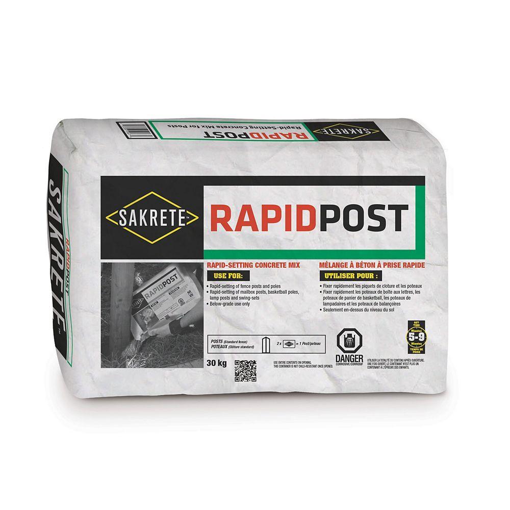 SAKRETE Rapid Post, 30 Kg