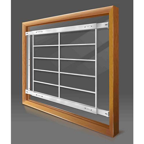 201 E 62-inch to 74-inch W Fixed Window Bar