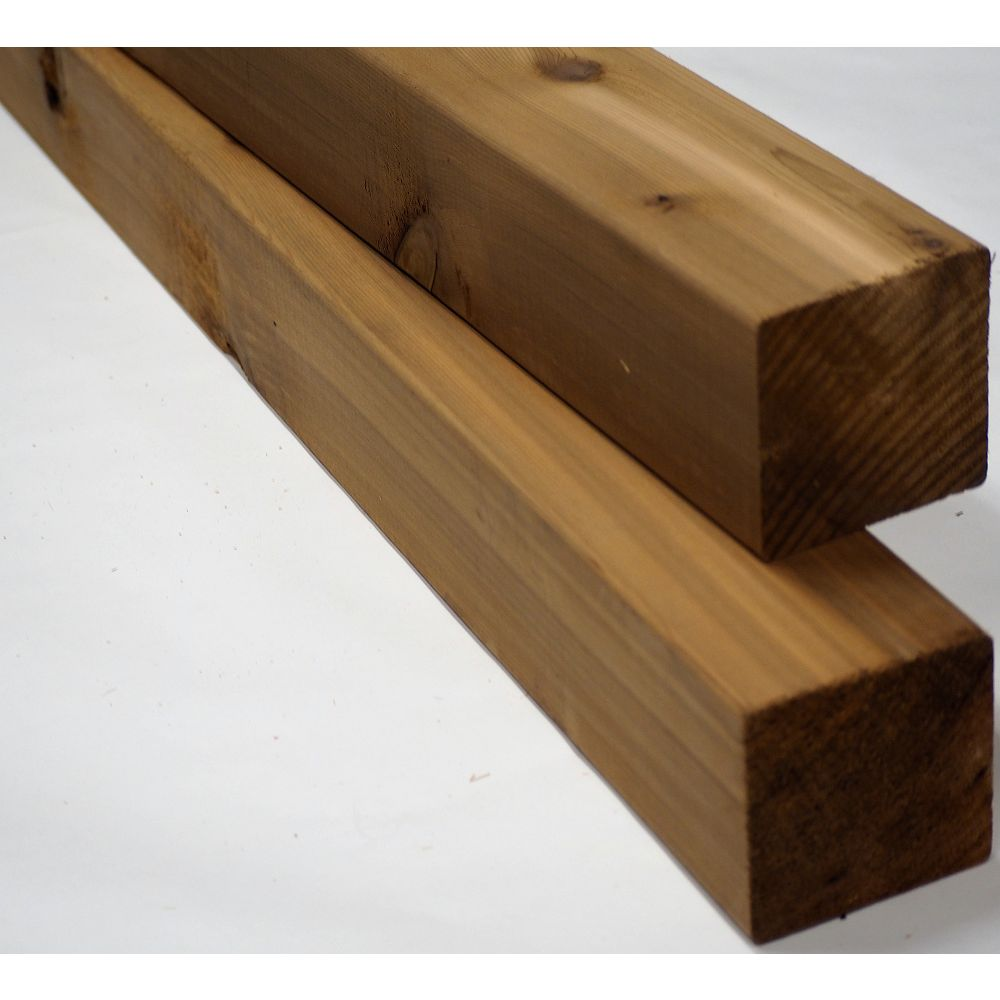 Porcupine 4x4x9' Appearance Cedar S4S Post
