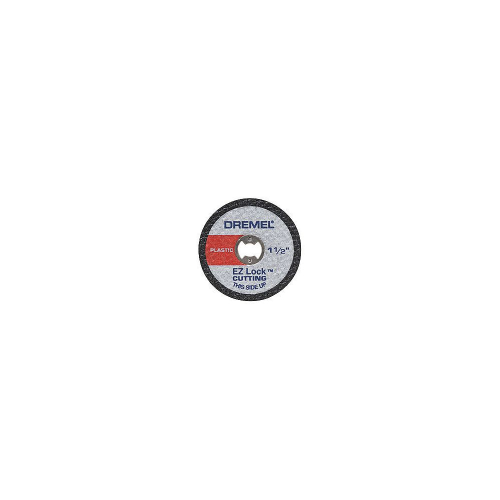 Dremel 1 1/2-inch EZ Lock Rotary Tool Cut-Off Wheels for Plastic (5-Pack)