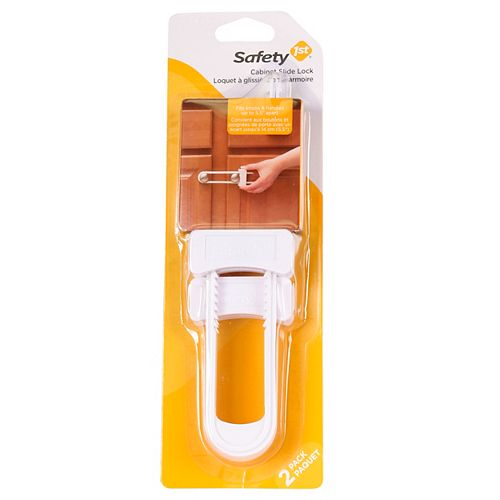 Cabinet Slide Lock - (2-Pack)