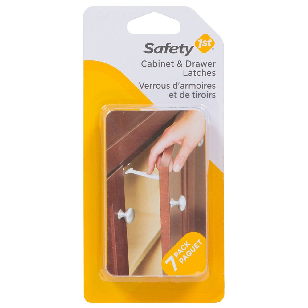 Safety 1st Wide Grip Latches - (7-Pack)