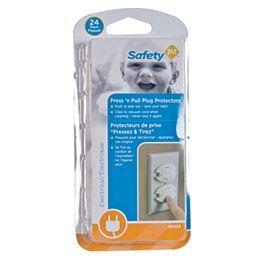 Press N' Pull Plug Protector - (24-Pack)