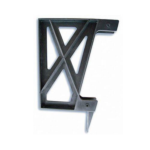 Plastic Deck Bench Bracket in Black