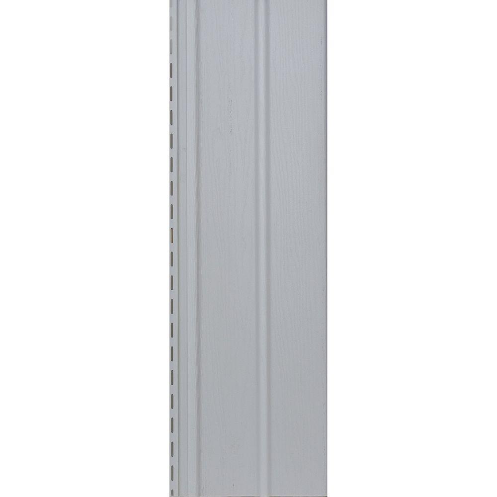 """Abtco Revêtement Vertical / Soffite Uni 10"""" - Blanc"""