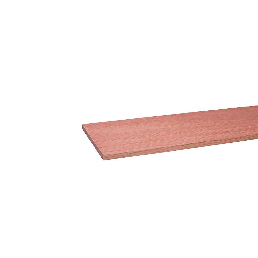 Alexandria Moulding Oak Hobby Board 1/4  x 4  x 4 Feet