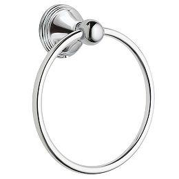 Preston Chrome Towel Ring