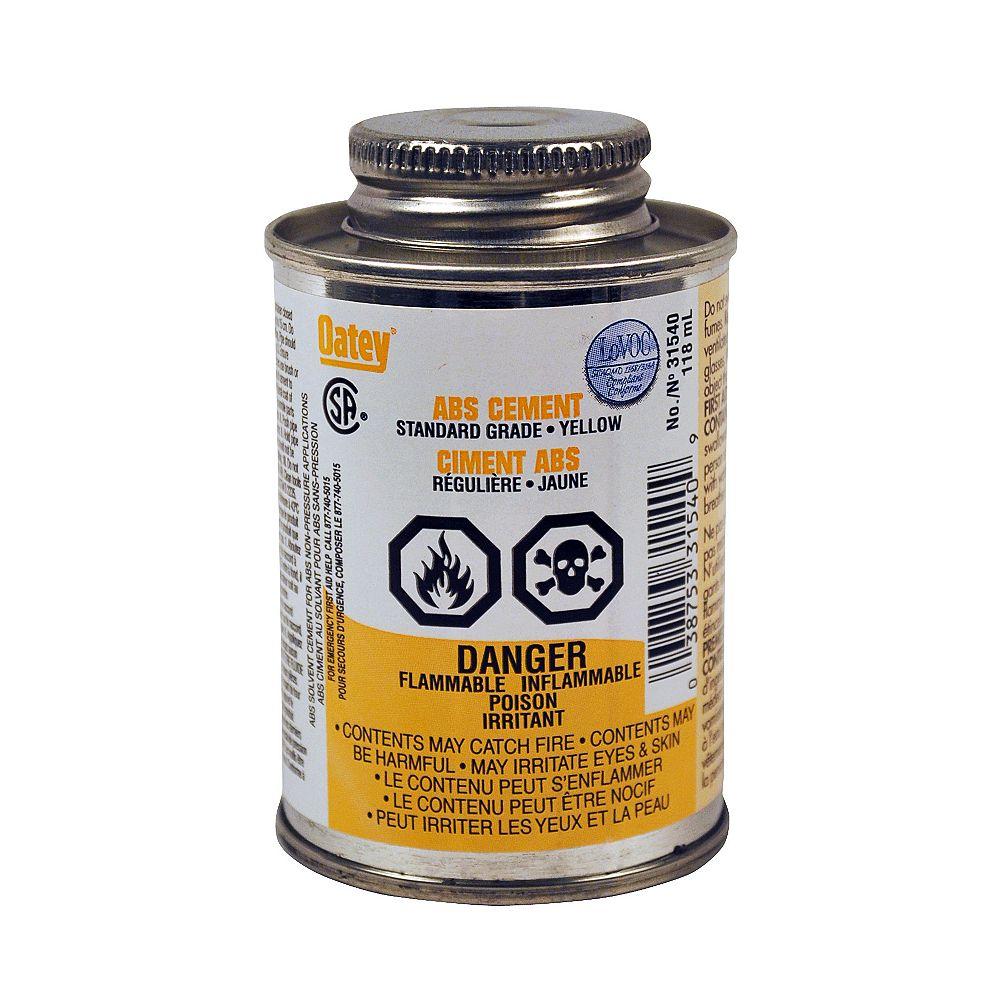 Oatey 118Ml Standard Abs Cement (S)