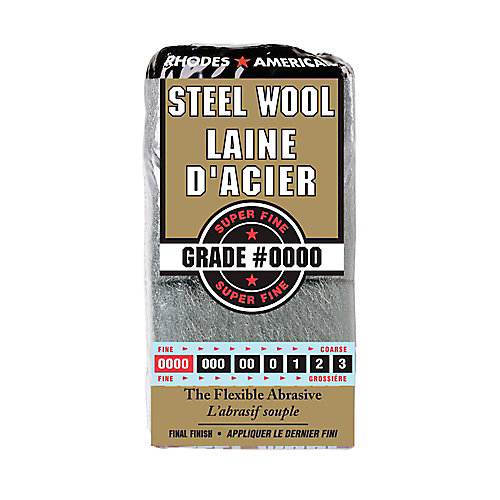 #4/0 12 Pad Steel Wool