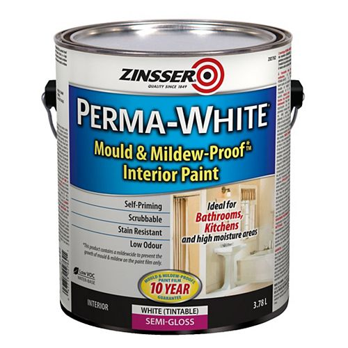 Perma-White Semi-Gloss 3.78L