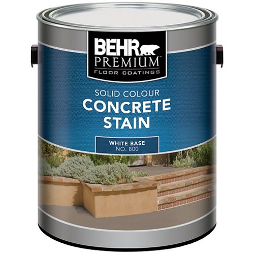 Solid Colour Concrete Stain, 3.67L