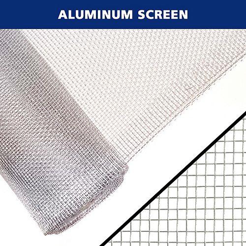 36 po x 40 po Moustiquaire en aluminium