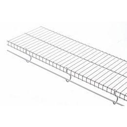 Freeslide 12-inch x 8 ft. Shelf in White