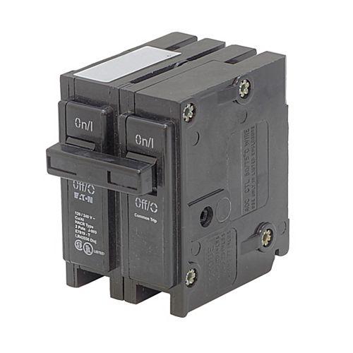 Disjoncteur de remplacement enfichable Type Br - 2P 20A