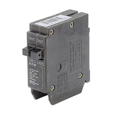 Disjoncteur double Eaton Type BR 15-A