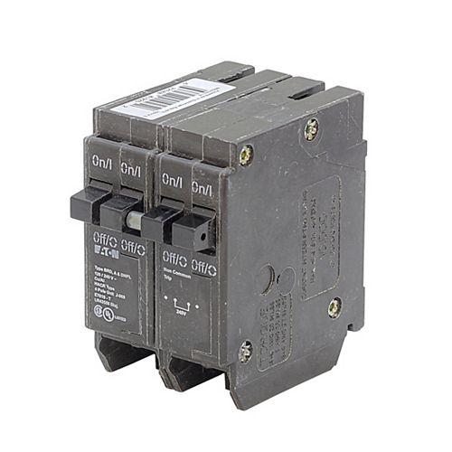 Disjoncteur quadruple Eaton Type BR 15-A