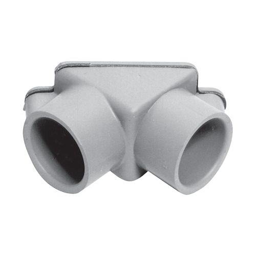 Schedule 40 PVC Pull Elbow  1/2 Inch