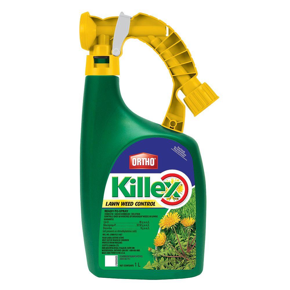 Ortho Killex 1L Ready to Spray Lawn Weed Control