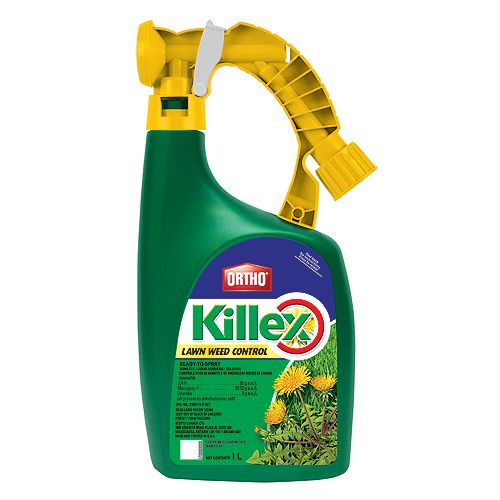 Killex 1L Ready to Spray Lawn Weed Control