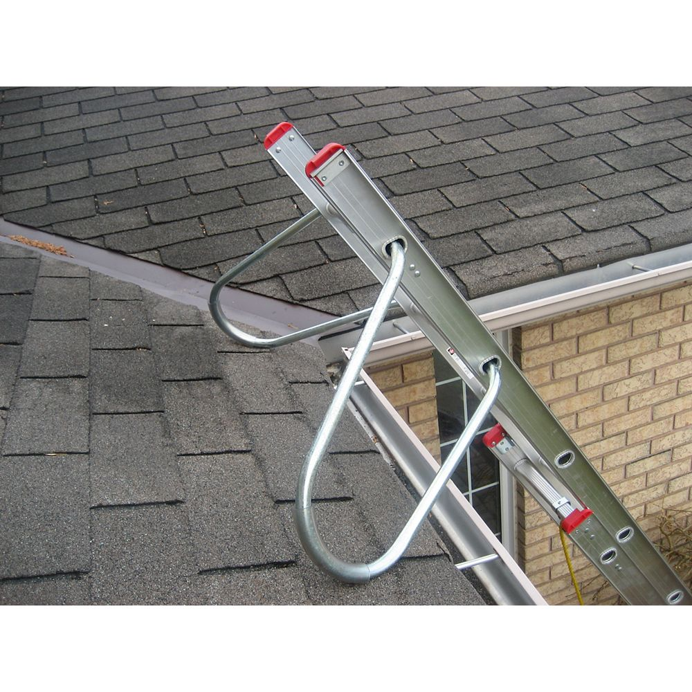Featherlite extension ladder stand-off arms