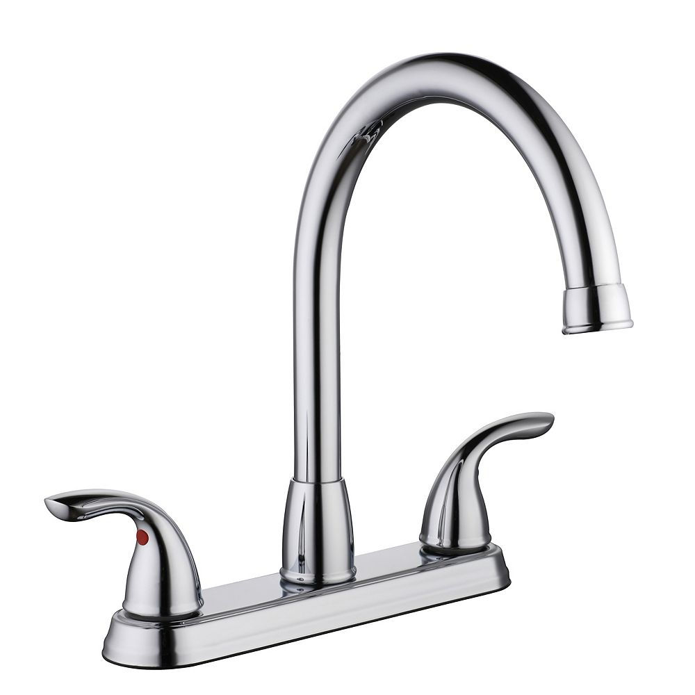 Glacier Bay 3000 Series Hi-Arc Kitchen Faucet in Chrome