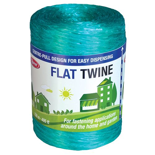 Flat Poly Twine - 495 ft. roll