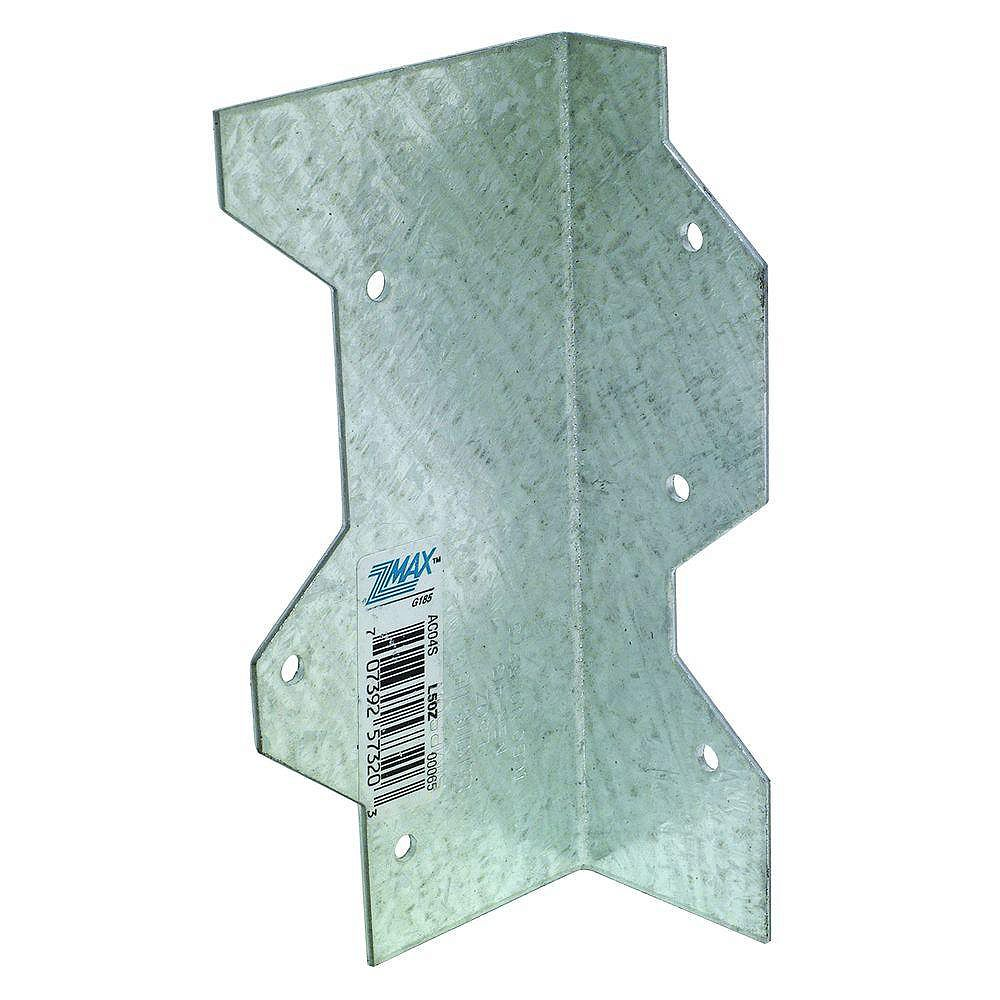 Simpson Strong-Tie 5 inch 16-Gauge ZMAX Galvanized Reinforcing L Angle