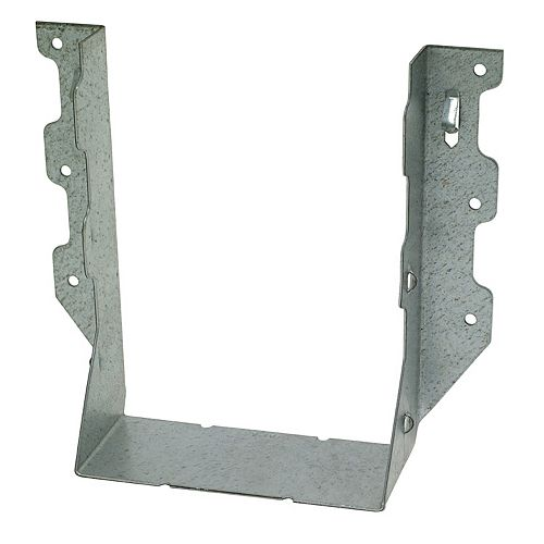 LUS ZMAX Galvanized Face-Mount Joist Hanger for Triple 2x8