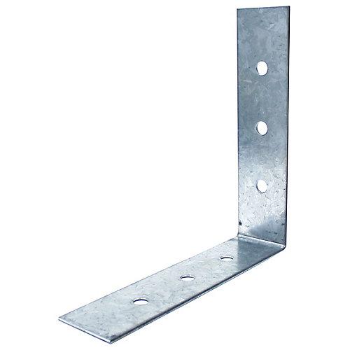 8 inch x 8 inch x 2 inch Galvanized Angle