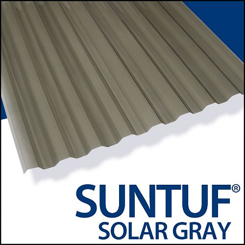 Cor. Pc 12 Feet Solar Grey