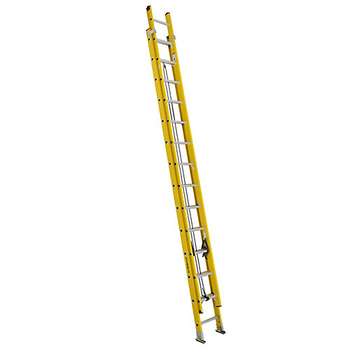 fibreglass extension ladder 28 Feet  grade IA