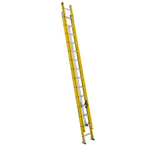 Featherlite fibreglass extension ladder 28 Feet  grade IA