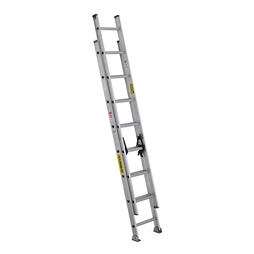 aluminum extension ladder 16 Feet  grade II
