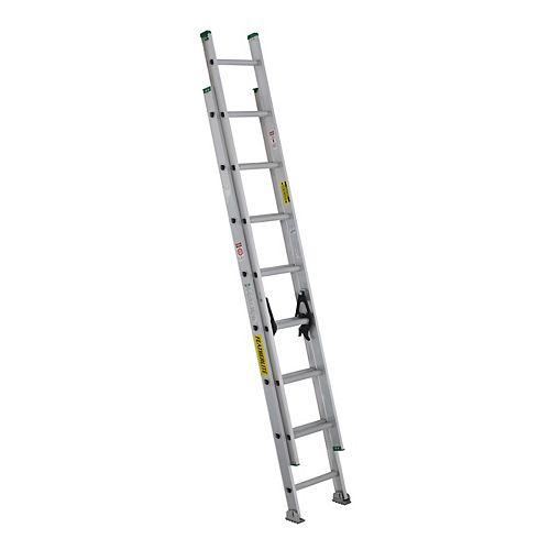 aluminum extension ladder 16 Feet  grade II
