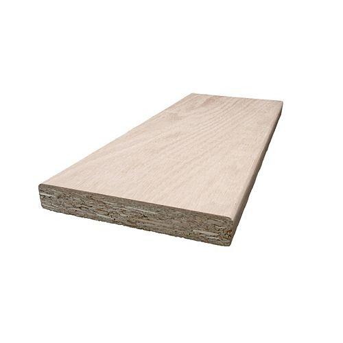 Oak Flat Jamb 11/16 In. x 4 9/16 In. (Price per linear foot)