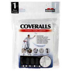 BENNETT Coveralls -Xtra Large-White