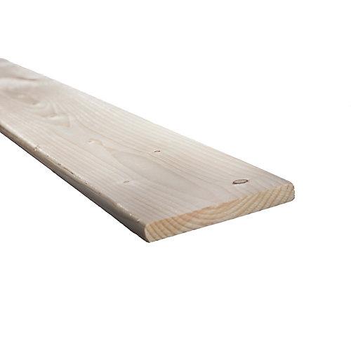 1- Inch X 6-inch X 8 Ft. Spf Kd