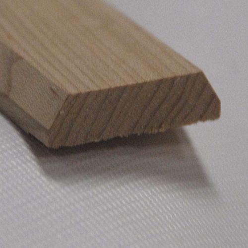 Red Oak Seambinder Floor Moulding, Natural - 1-3/4 Inch