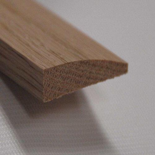 Red Oak Reducer Floor Moulding, Natural - 7/16 Inch
