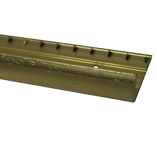Carpet Edge Pinned, Hammered Gold - 3/4 Inch