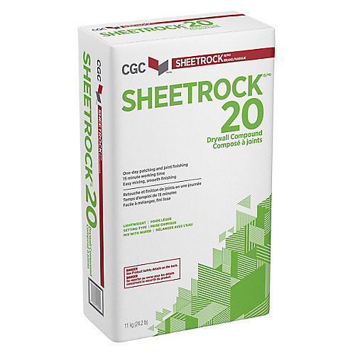 CGC 20 Composé pour joints à prise chimique, sac de 11 kg