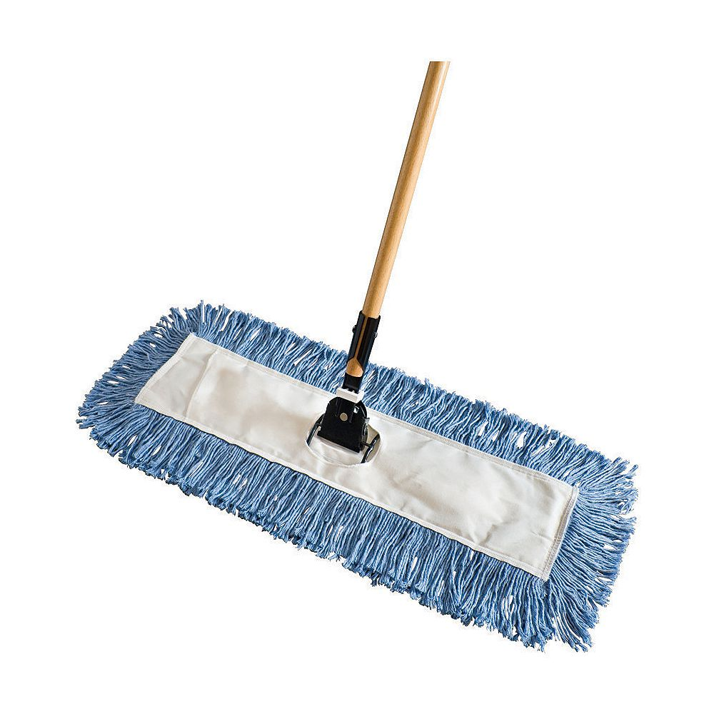 Rubbermaid 5-inch x 24-inch Kut-A-Way Dust Mop with Handle