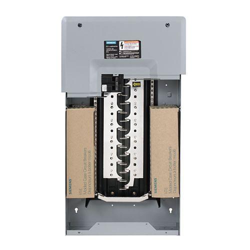 24/48 Circuit 100A 120/240V Siemens Paquet panneau avec disjoncteur principal