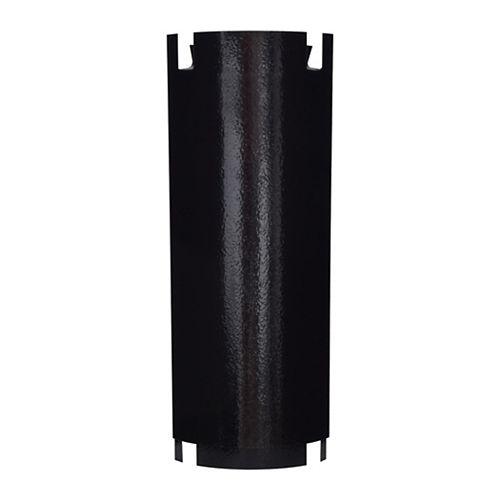 Écran thermique réglable pour tuyaux de poêle