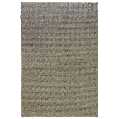 Carpette d'intérieur, 4 pi x 6 pi, style contemporain, rectangulaire, gris Bound