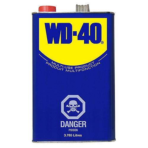 Lubrifiant tout usage WD-40, 3.785 L