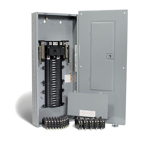 200 Amp, 40 Spaces 80 Circuits Maximum QwikPak Panel Package