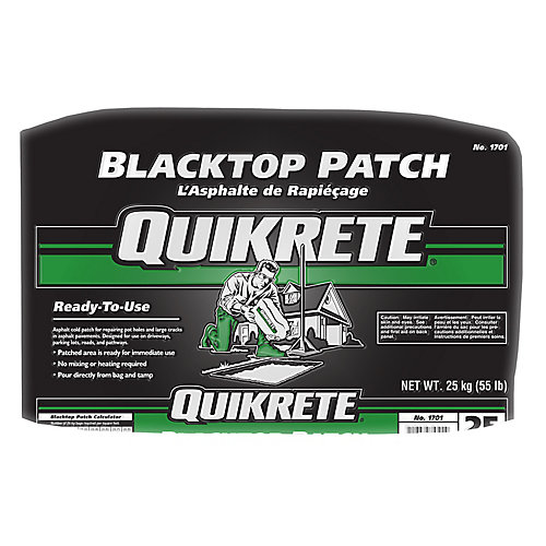 Quikrete Blacktop Patch 25kg The Home Depot Canada