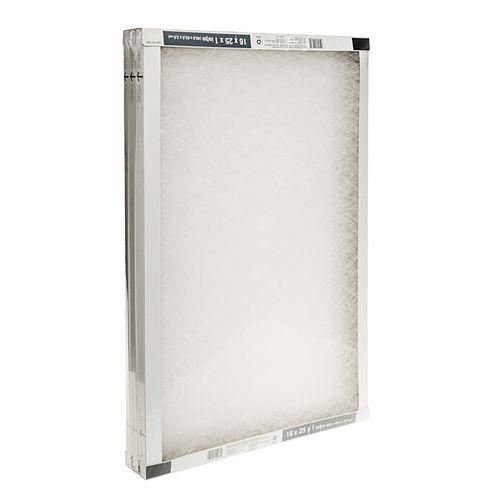 Filtre à air pour appareil de chauffage, 16 po x 25 po x 1 po, fibre de verre, paquet de 3