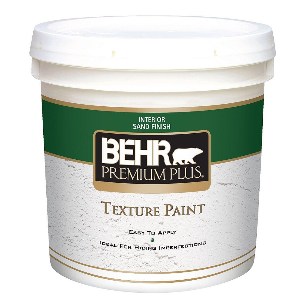 Behr Premium Plus PREMIUM PLUS Texture Paint - Sand Finish, 7.58L